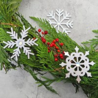 leather christmas ornaments