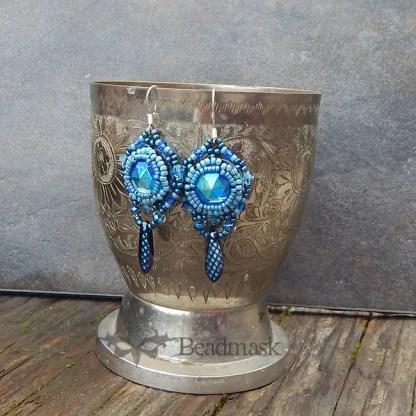 seed bead earrings