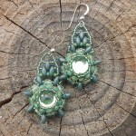 sage-mandala-beaded-earrings