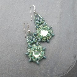 sage-mandala-beaded-earrings2