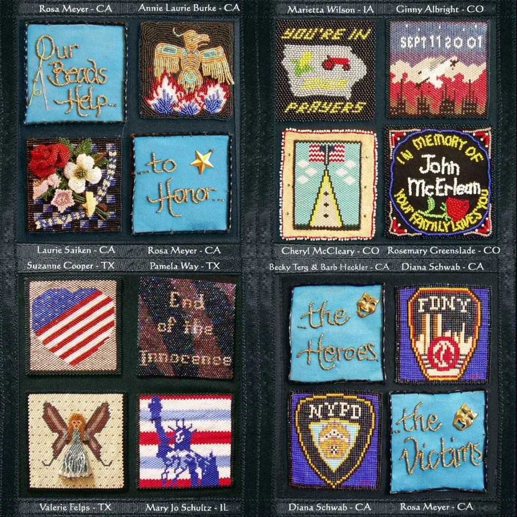 9/11 bead quilt block