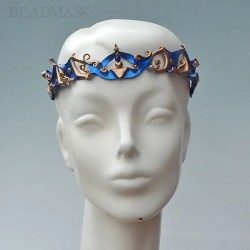 cobalt-leather-circlet
