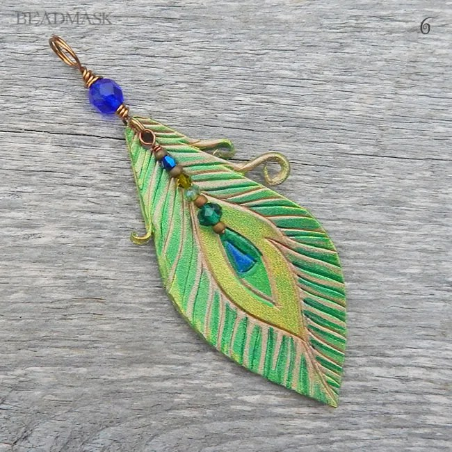 il listing peacock feather pendant necklace feathers jewelry