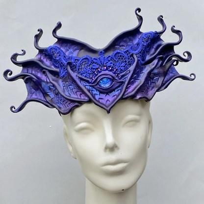 leather dragon crown