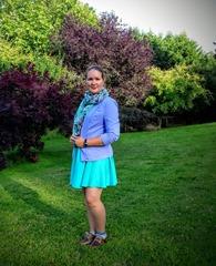 Turq dress