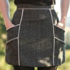 Chalk lines skirt