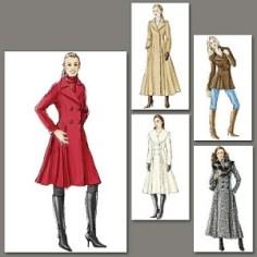 V8346 coat pattern