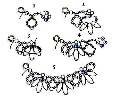 Free Beaded Necklace Patterns