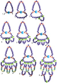 Seed Bead Earring Patterns | Car Interior Design