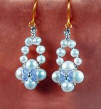 Earrings Beads Best 25 Beaded Earrings Ideas On Pinterest ...