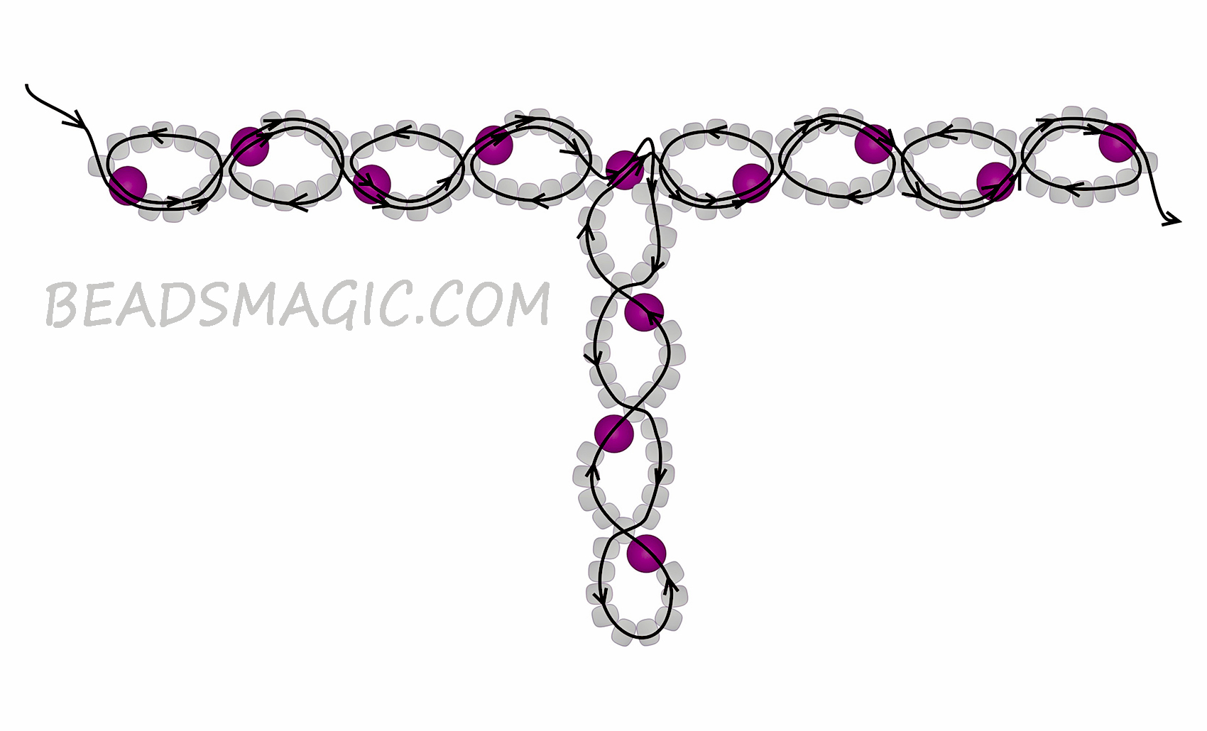 Free Pattern For Necklace Berries