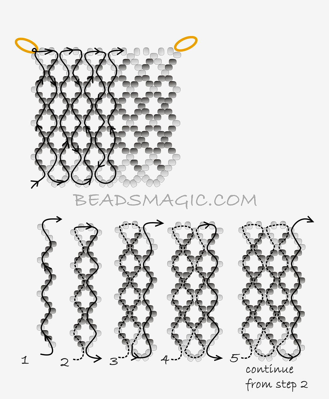 Ornaments, Patterns and Tutorials on Pinterest