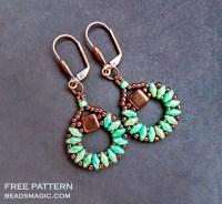 earrings pattern | Beads Magic