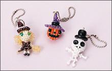 Beads Maniaのここだけの話-ハッピーハロウィン☆マスコットチャーム3個set