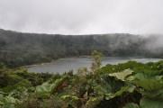 Volcanic lake above Poas