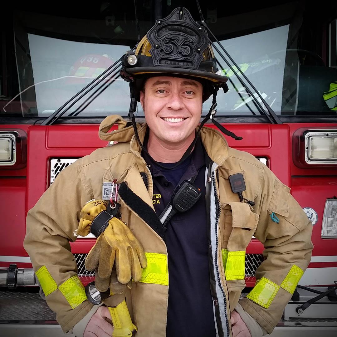 Firefighter Garcia