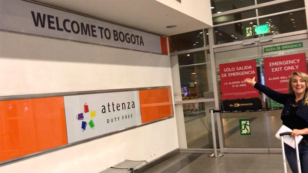 Traveling To Colombia - We Arrived in Bogota