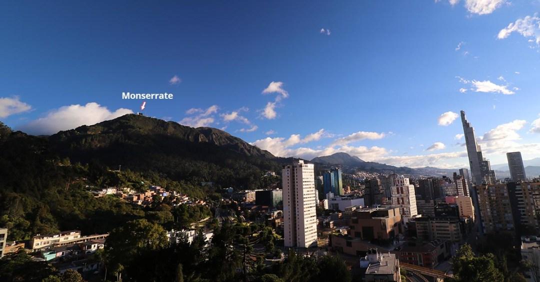 Monserrate Bogota Hike - The Hill