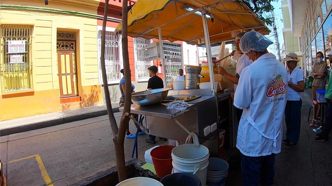 Entrepreneurship On The Rise - Orange Juice Vendor