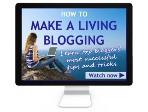 How to make a living blogging