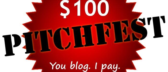 Pitchfest: A $100 Blogging Prize [And Some Grammar Tips]