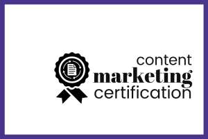 Free webinar: Content Marketing Certification