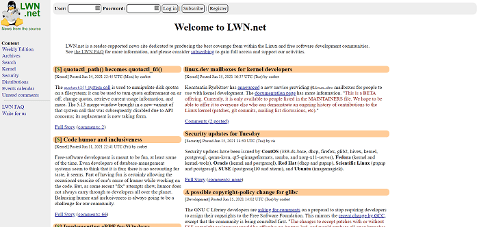 LWN hires tech writers for freelance writing jobs
