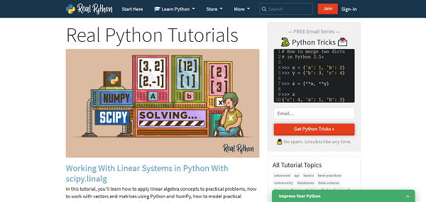 Real Python blog pays writers for freelance tech writing jobs