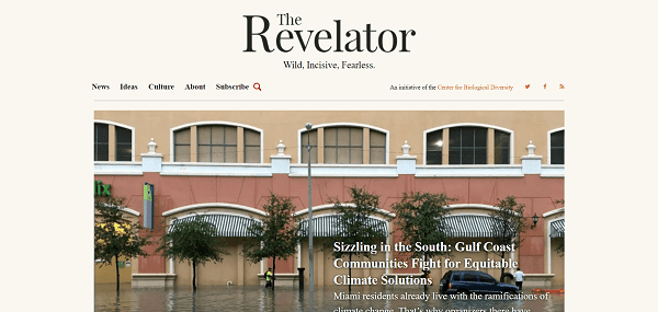 The Revelator hires science writers for freelance writing jobs