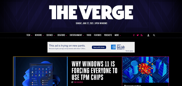 The Verge pays tech and science writers for freelance writing gigs