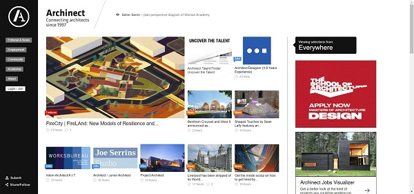 Archinect pays writers for freelance design writing jobs.