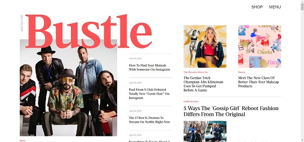Bustle magazine hires writers for freelance style writing jobs