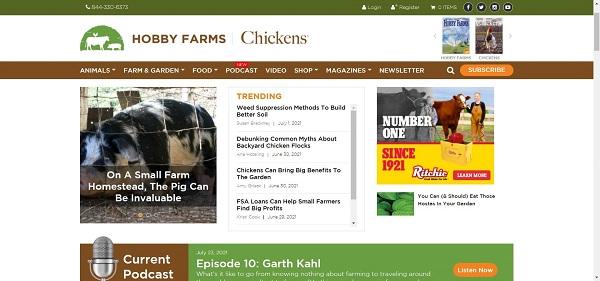 Hobby Farms magazine pays writers for freelance gardening writing gigs