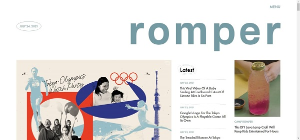 Romper pays freelance writers for style writing gigs.