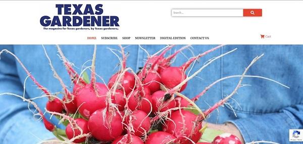 Texas Gardener magazine pays writers for freelance garden writing gigs