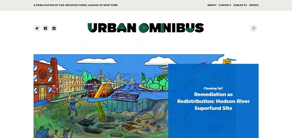 Urban Omnibus pays freelance writers for architecture writing jobs