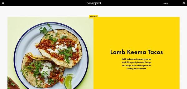 Bon Appetit magazine and blog hire freelance writers for food writing gigs