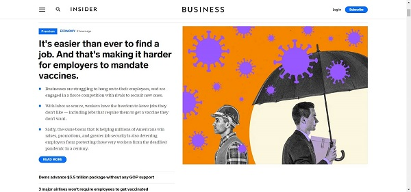Business Insider pays freelance writers for tech writing gigs