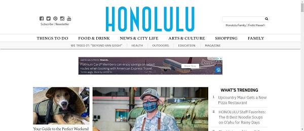 Honolulu magazine and blog hire food writers for freelance writing jobs