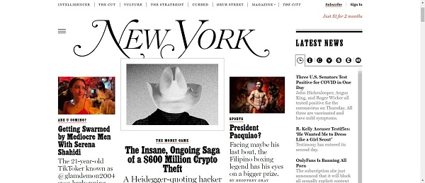 New York magazine hires food writers for freelance writing jobs