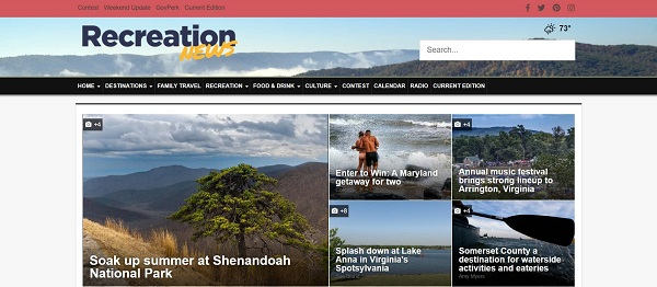 Recreation News magazine hires writers for freelance food writing jobs