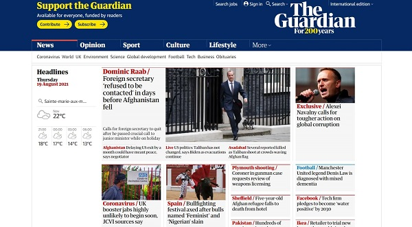 The Guardian hires food writers for freelance writing jobs