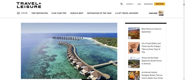 Travel and Leisure magazine hires freelance writers for food and drink writing jobs