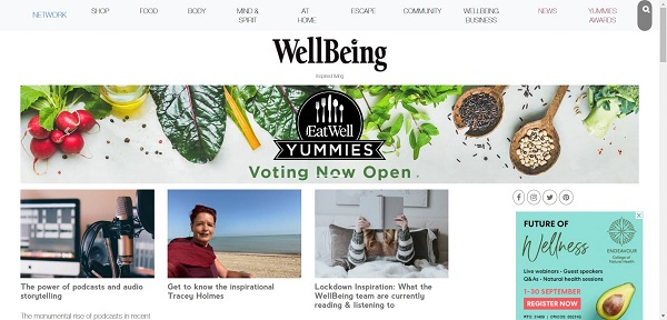 Wellbeing magazine hires writers for freelance food writing jobs