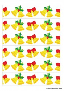 christmas paper chain be