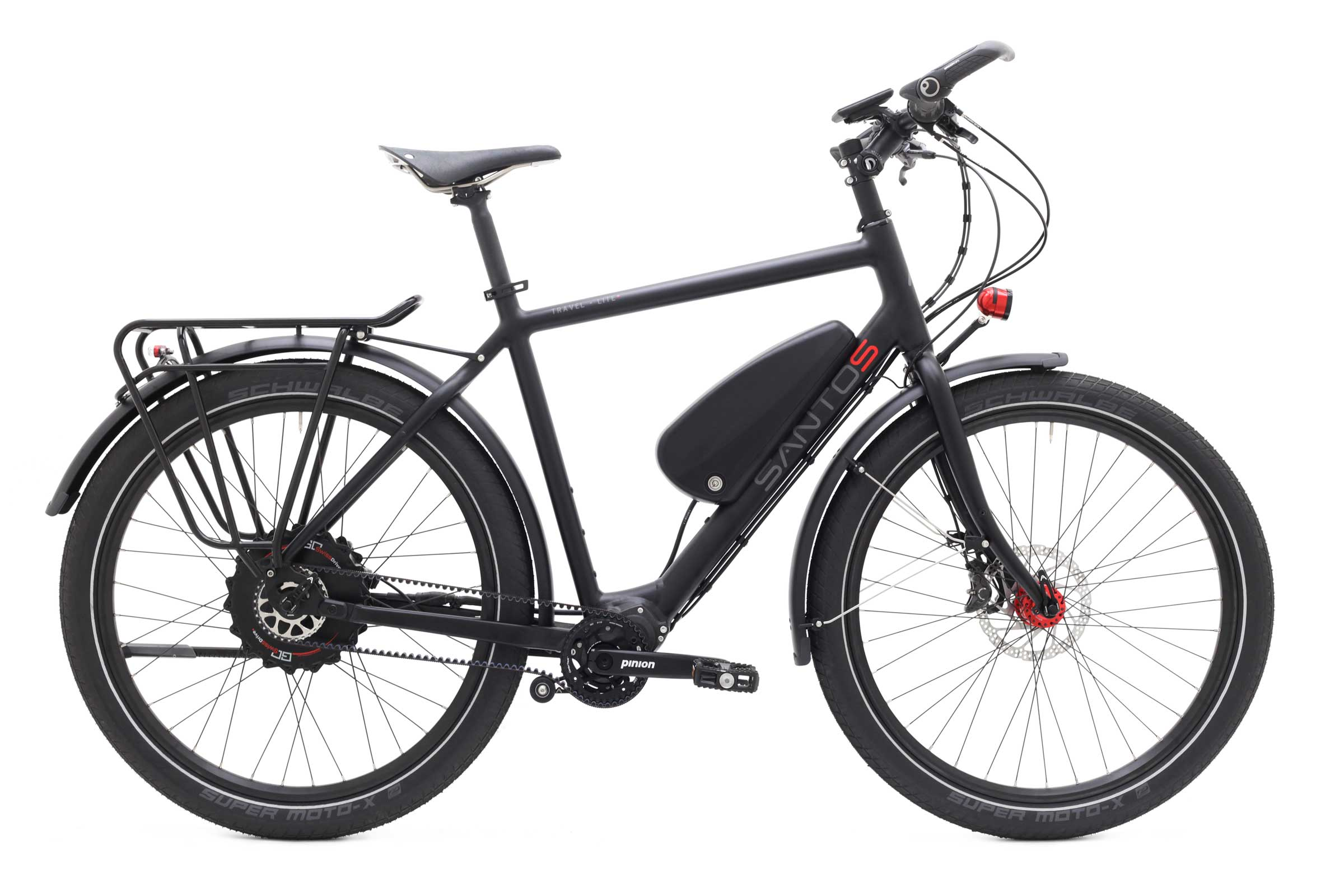 Travelmaster 3+ E-bike met Go Swiss aandrijving