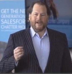 Salesforce CEO, Marc Benioff