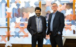 HubSpot founders Dharmesh Shah and Brian Halligan