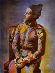 Picasso's Harlequin, 1923