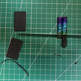 nun noch auf die richtige Länge zuschneiden / now cut to the right size